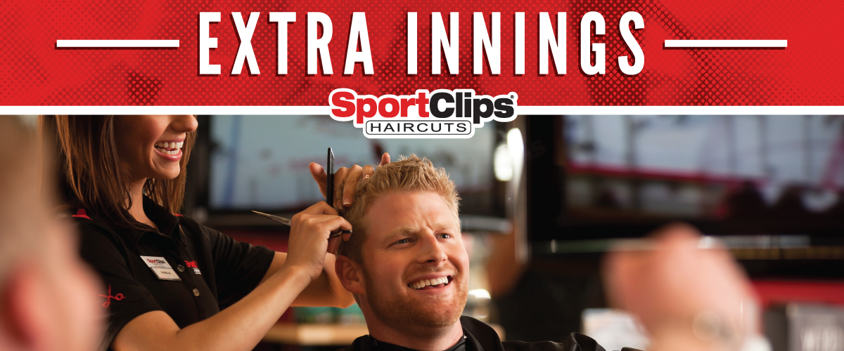 The Sport Clips Haircuts of Surprise Extra Innings Offerings